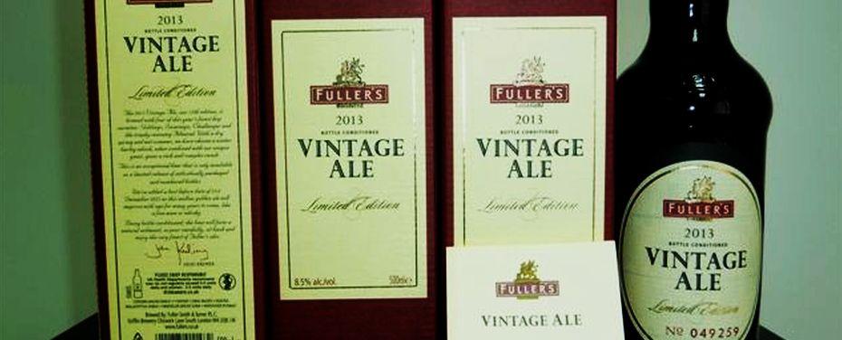 Fuller's Vintage Ale – ikona brytyjskiego Barleywine